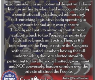 Fundamentally, it does not matter who the people elect president...