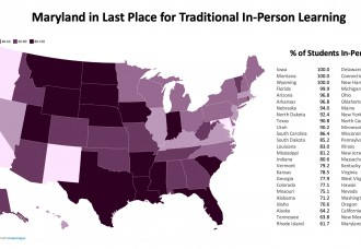 A National Disgrace — Maryland Dead Last for In-Person Learning