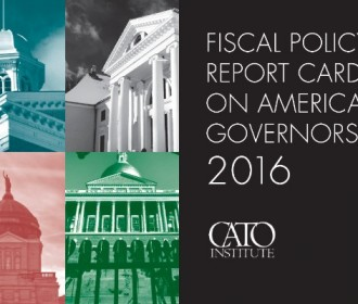 The Cato Institute has released its biennial Fiscal Policy Report Card on America's Governors
