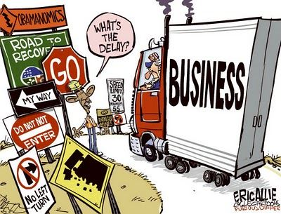 anti business obamacartoon