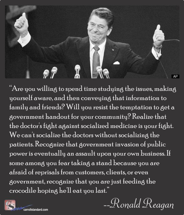 reagan-socialized-health