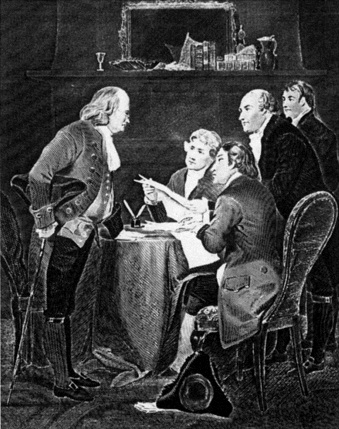 Drafting of the Declaration of Independence